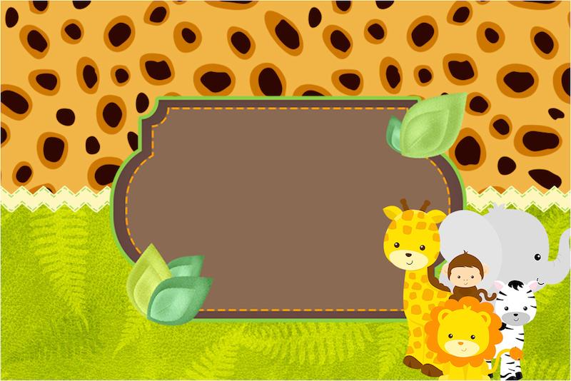 Chá de Bebê Safari do Arthur!